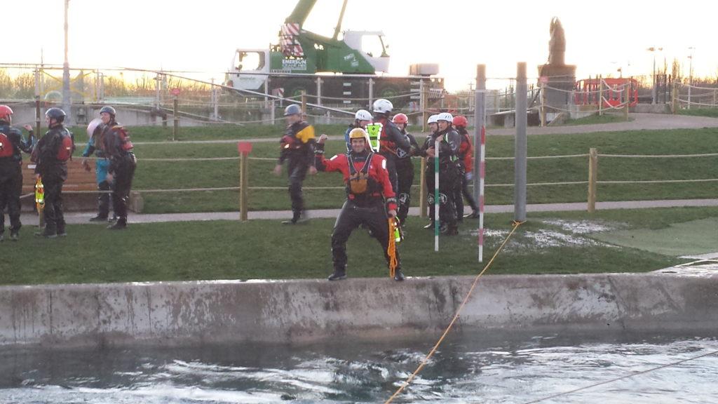 White Water Center training